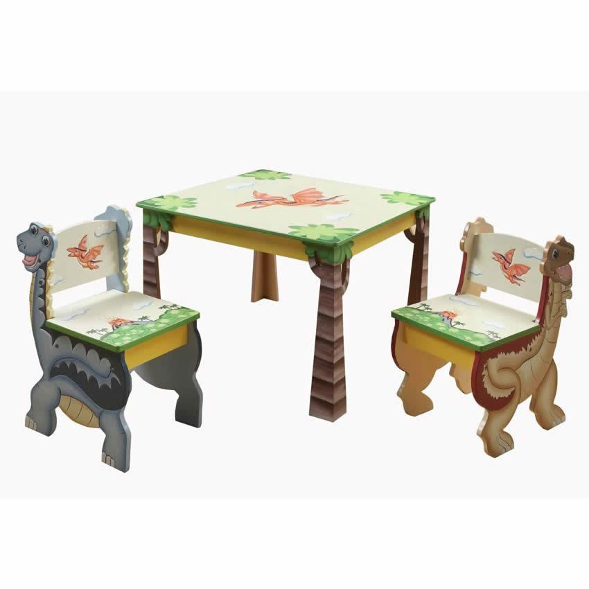 Dinosaur Kingdom Table & Set of 2 Chairs Thumbnail 10