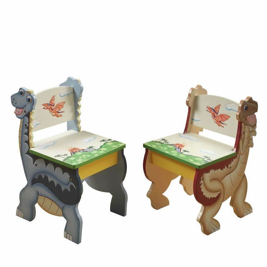 Dinosaur Kingdom Table & Set of 2 Chairs Thumbnail 11