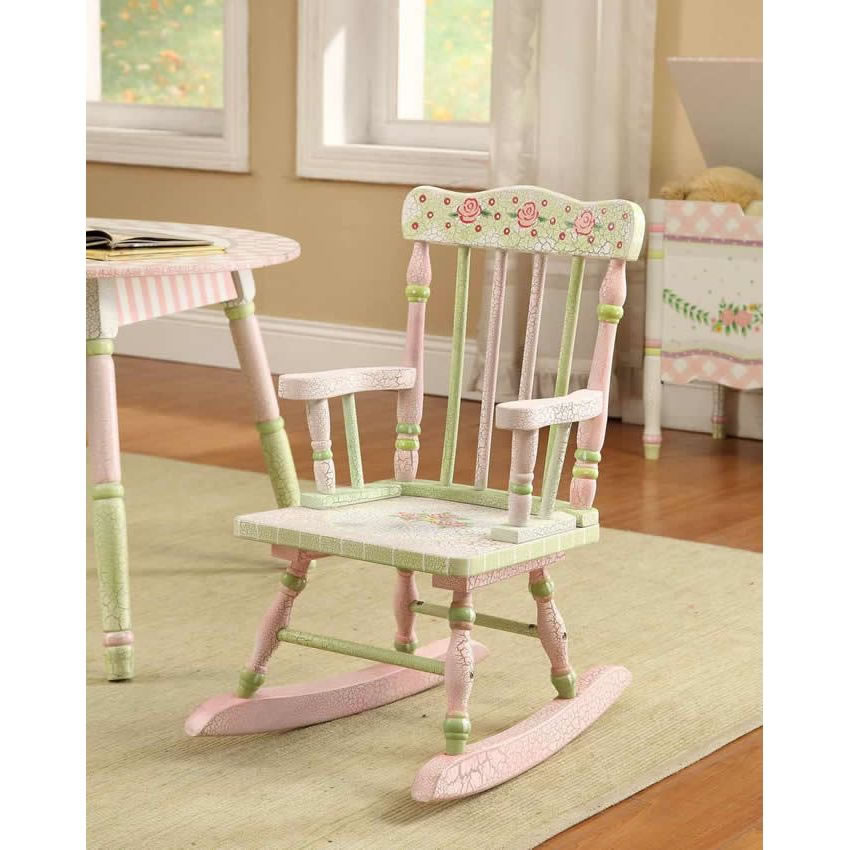 Superieur ... Shabby Chic Floral Rocking Chair Thumbnail 4 ?
