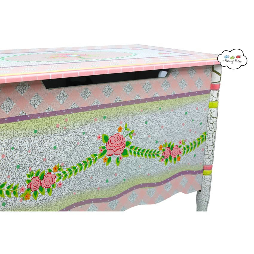 Shabby Chic Floral Collection, Toy Chest Thumbnail 2