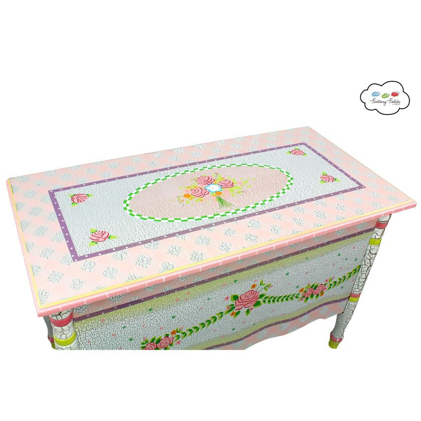 Shabby Chic Floral Collection, Toy Chest Thumbnail 3