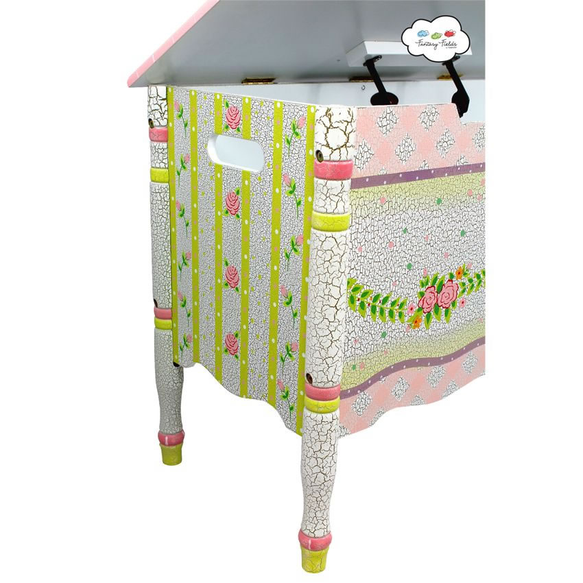 Shabby Chic Floral Collection, Toy Chest Thumbnail 5