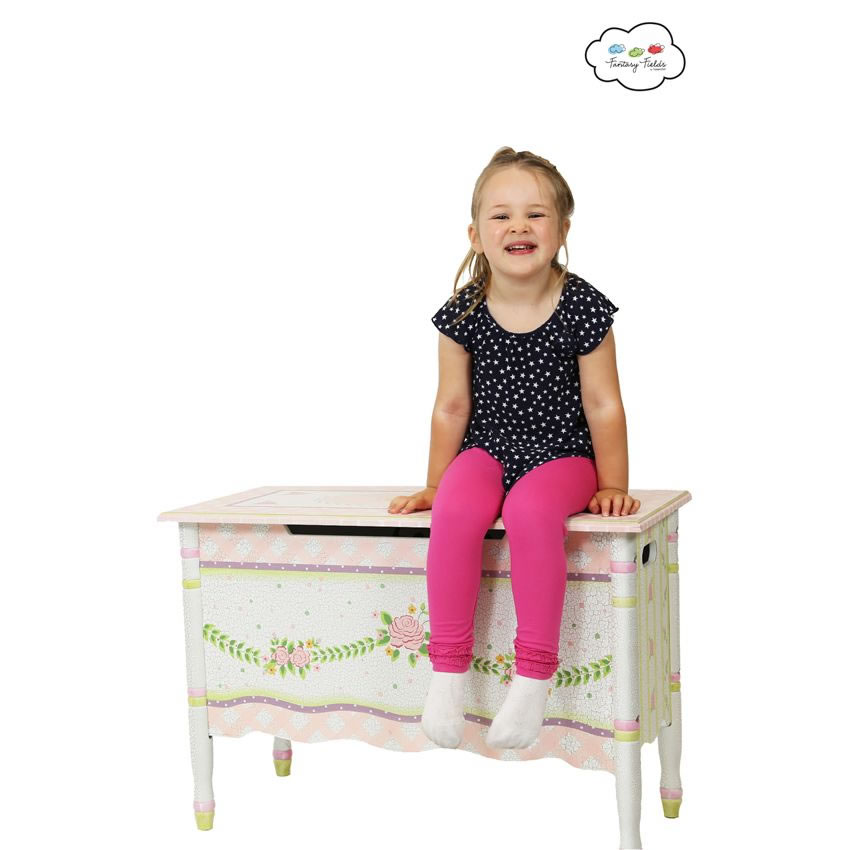 Shabby Chic Floral Collection, Toy Chest Thumbnail 6