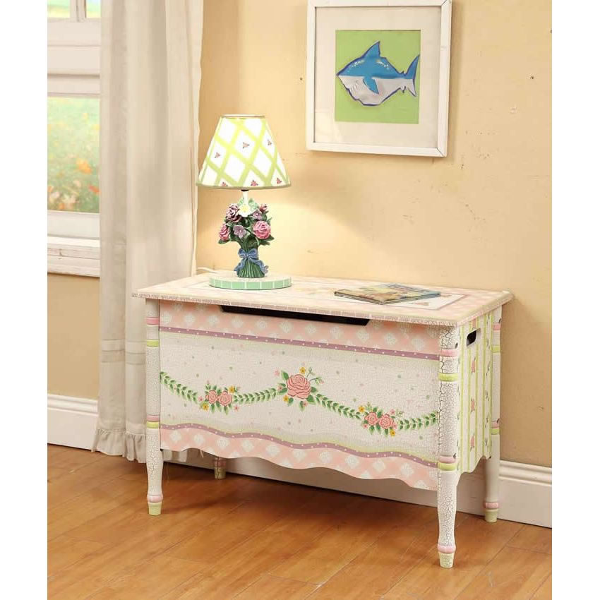 Shabby Chic Floral Collection, Toy Chest Thumbnail 7
