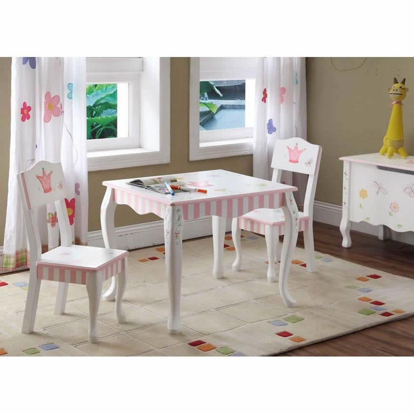 Princess & the Frog Set of 2 Chairs