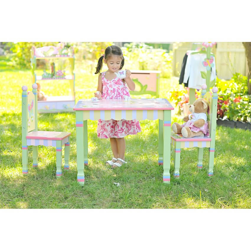 Enchanted Garden Table and Chair Set Thumbnail 1