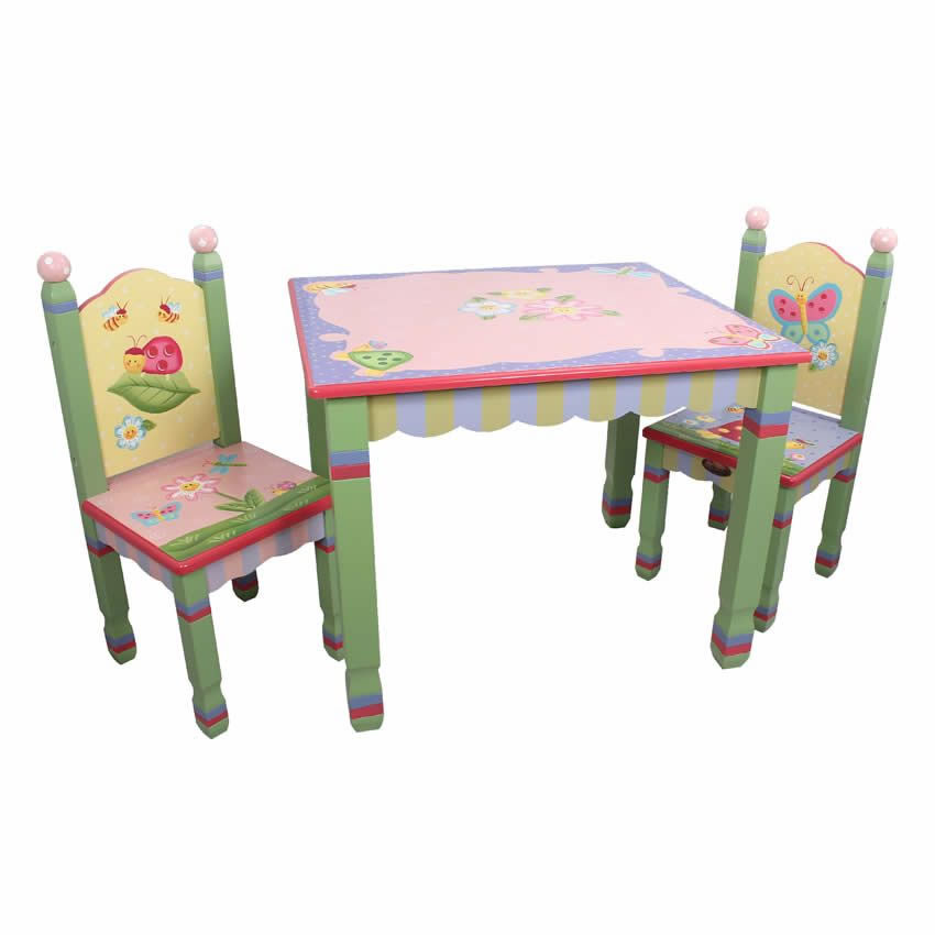 Sensational Enchanted Garden Table And Chair Set Home Interior And Landscaping Ferensignezvosmurscom