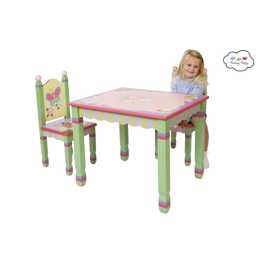 Enchanted Garden Table and Chair Set Thumbnail 8