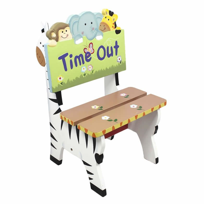 Jolly Jungle Time Out Chair Thumbnail 1