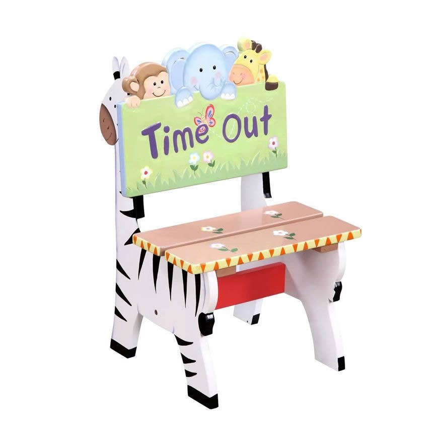 sc 1 st  Sweet Retreat Kids & Jolly Jungle Time Out Chair