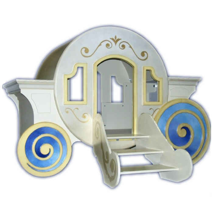 Princess Cinderella's Carriage Bed