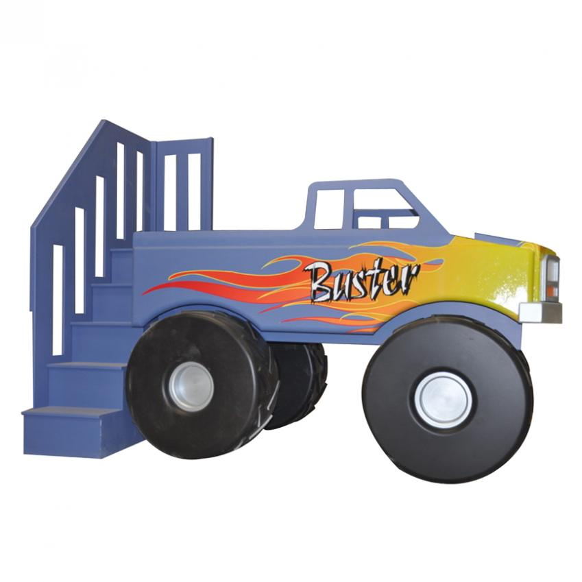 Stupendous Monster Truck Theme Bed Home Interior And Landscaping Ologienasavecom