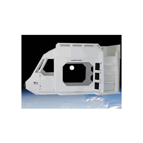 Space Shuttle Theme Bunk Bed Thumbnail 1