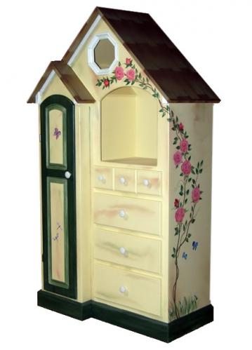 Custom Painted Cottage Dresser Thumbnail