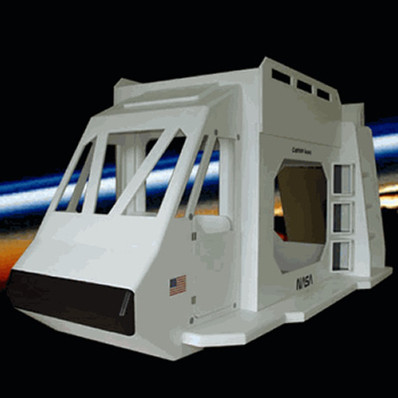 Space Shuttle Theme Bunk Bed Thumbnail