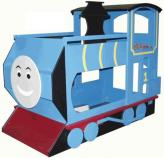 Train Bunk Bed - Blue