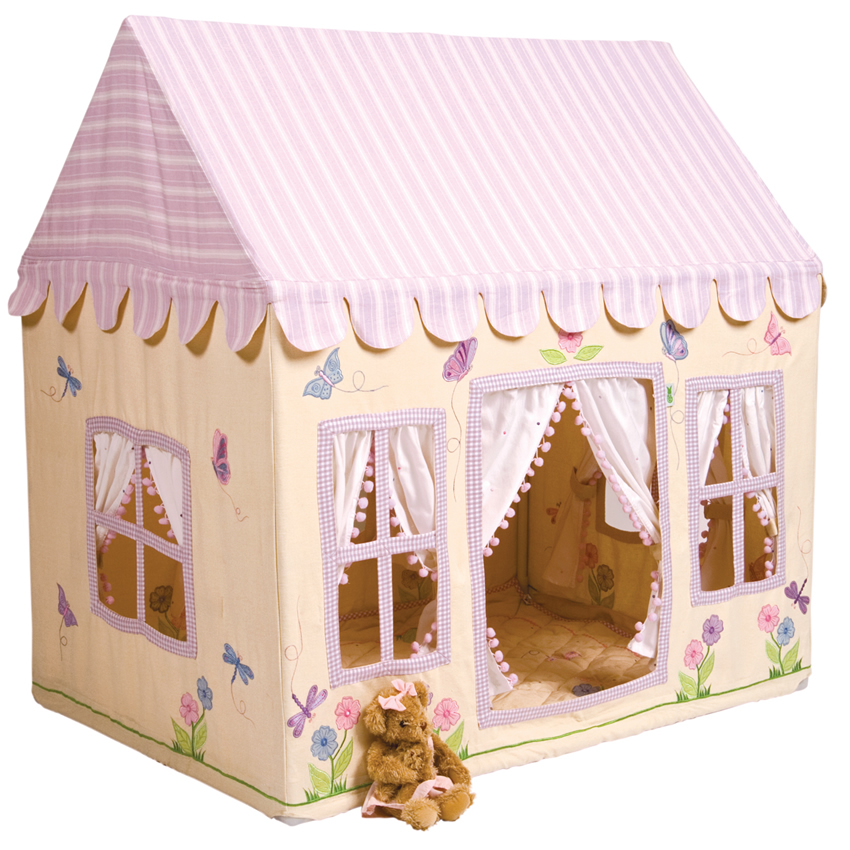 ... Girlu0027s Butterfly Cottage Playhouse Thumbnail 9 ...  sc 1 st  Sweet Retreat Kids & Girlu0027s Butterfly Cottage Playhouse