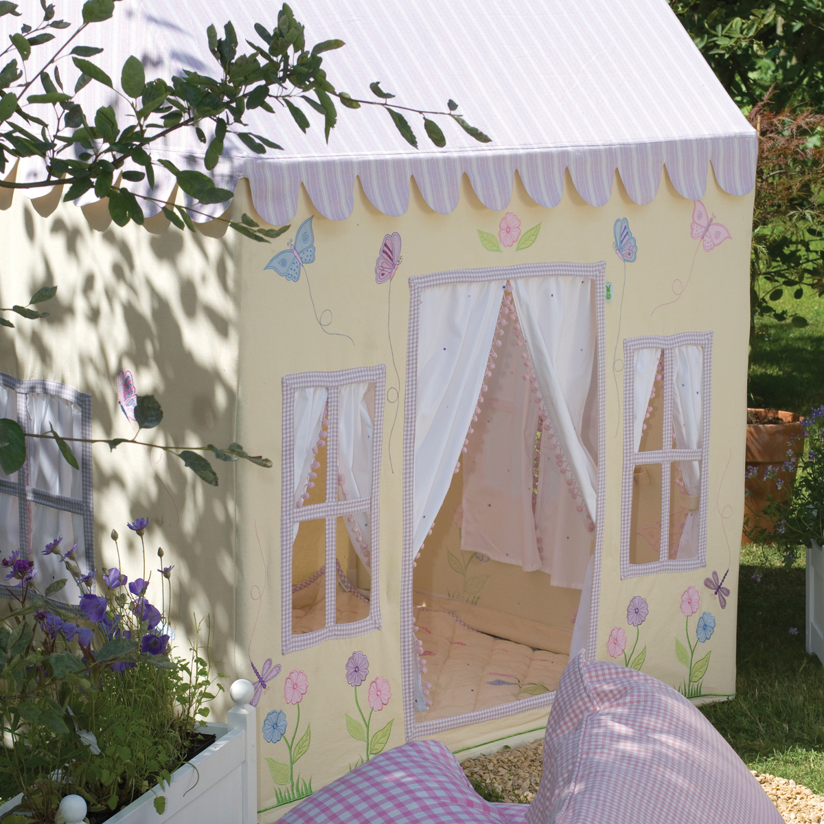u0027s butterfly cottage playhouse