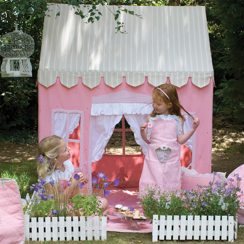 Gingerbread Cottage Playhouse Thumbnail 1