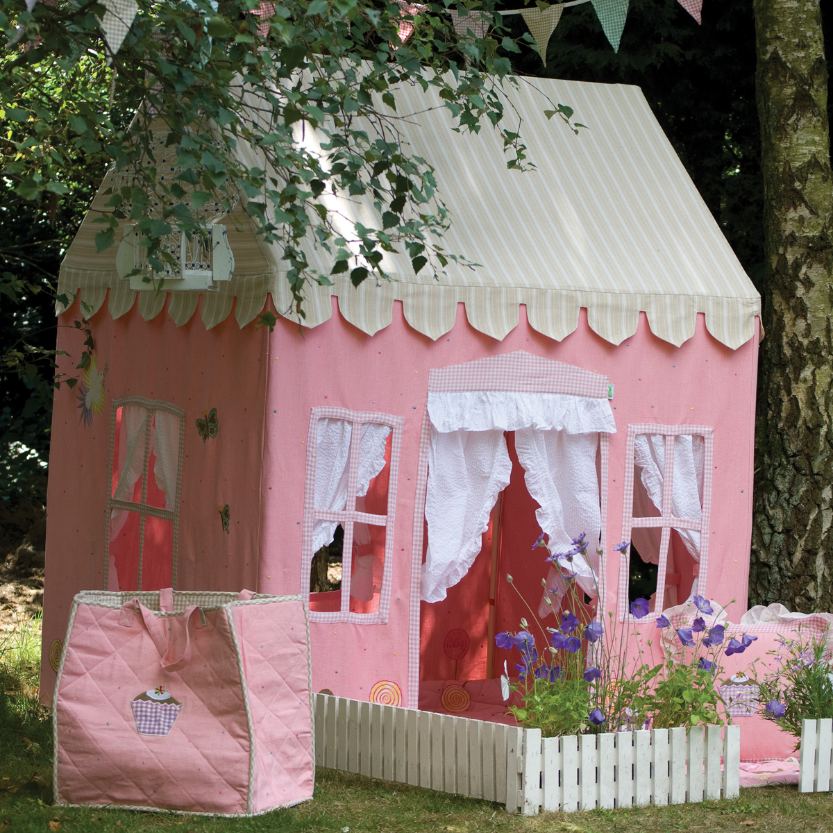Gingerbread Cottage Playhouse Main Thumbnail