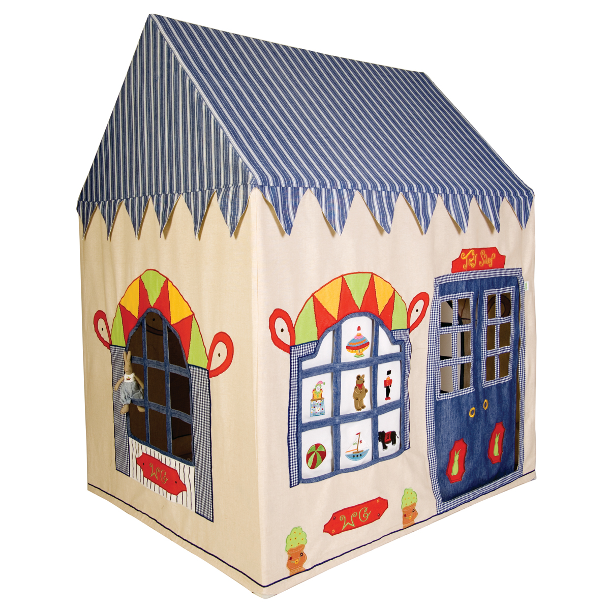 Appliqued Playhouse, Toy Shop Thumbnail 7