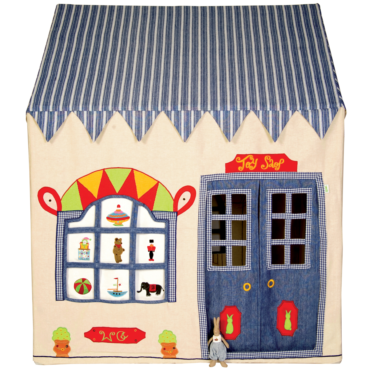 Appliqued Playhouse, Toy Shop Thumbnail 3