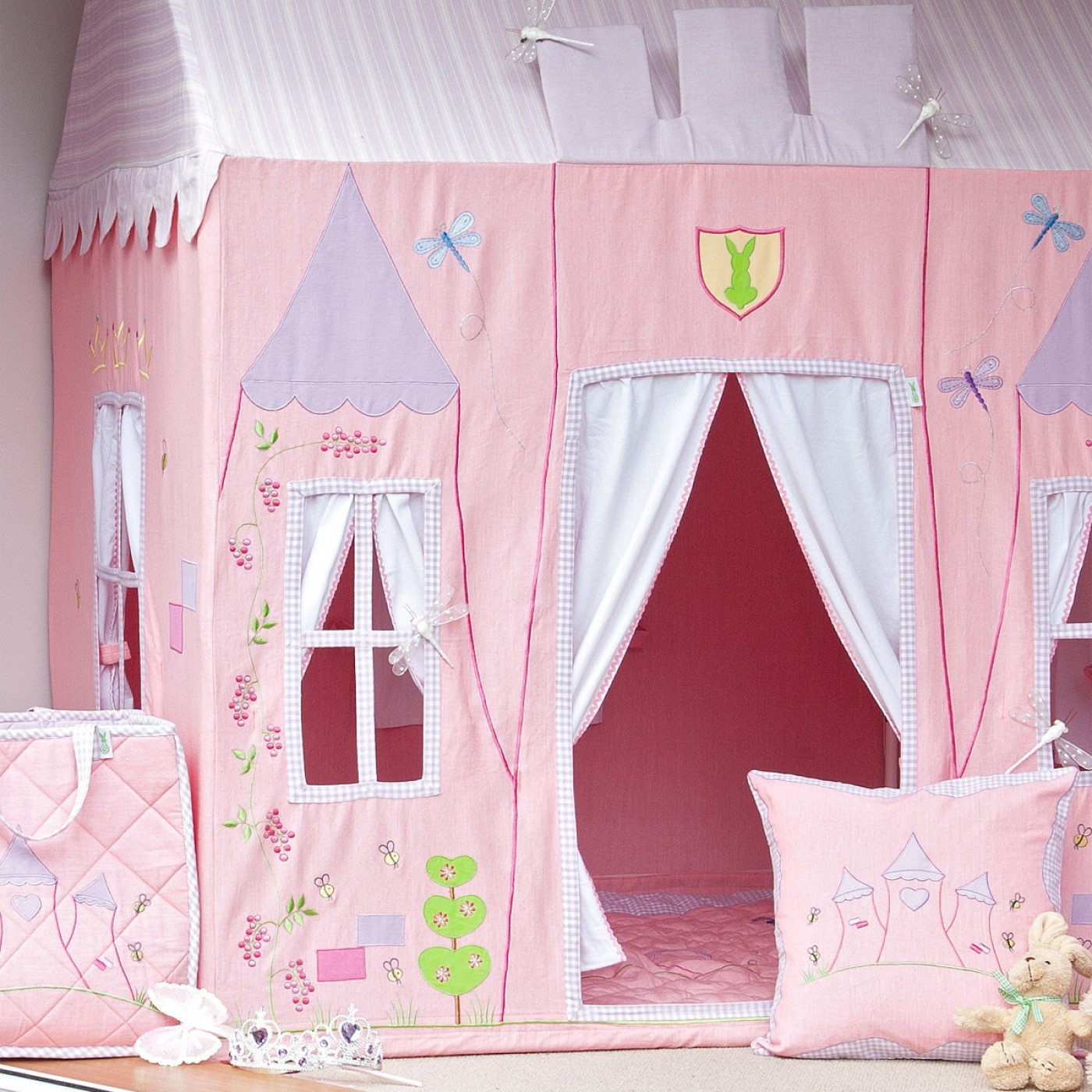 Fabric Princess Castle Playhouse Thumbnail 1