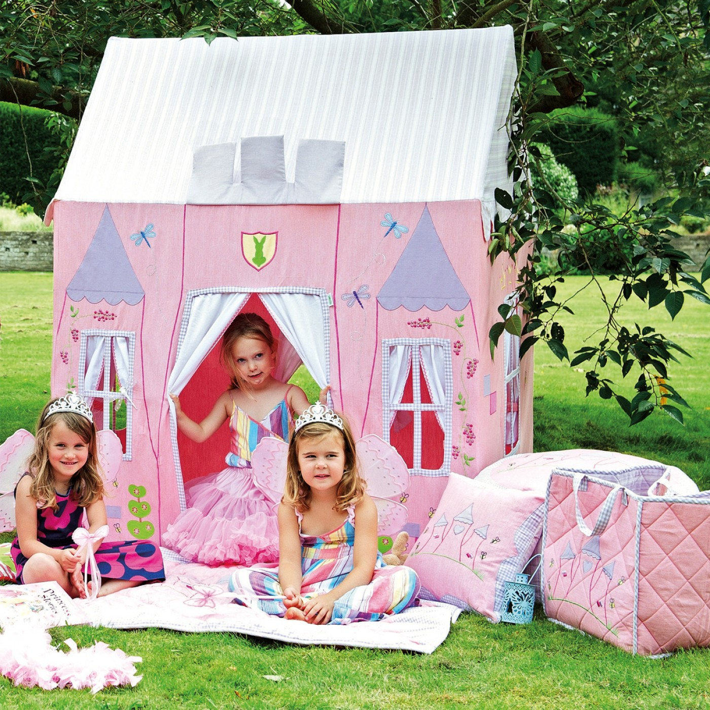 Fabric Princess Castle Playhouse Thumbnail 2