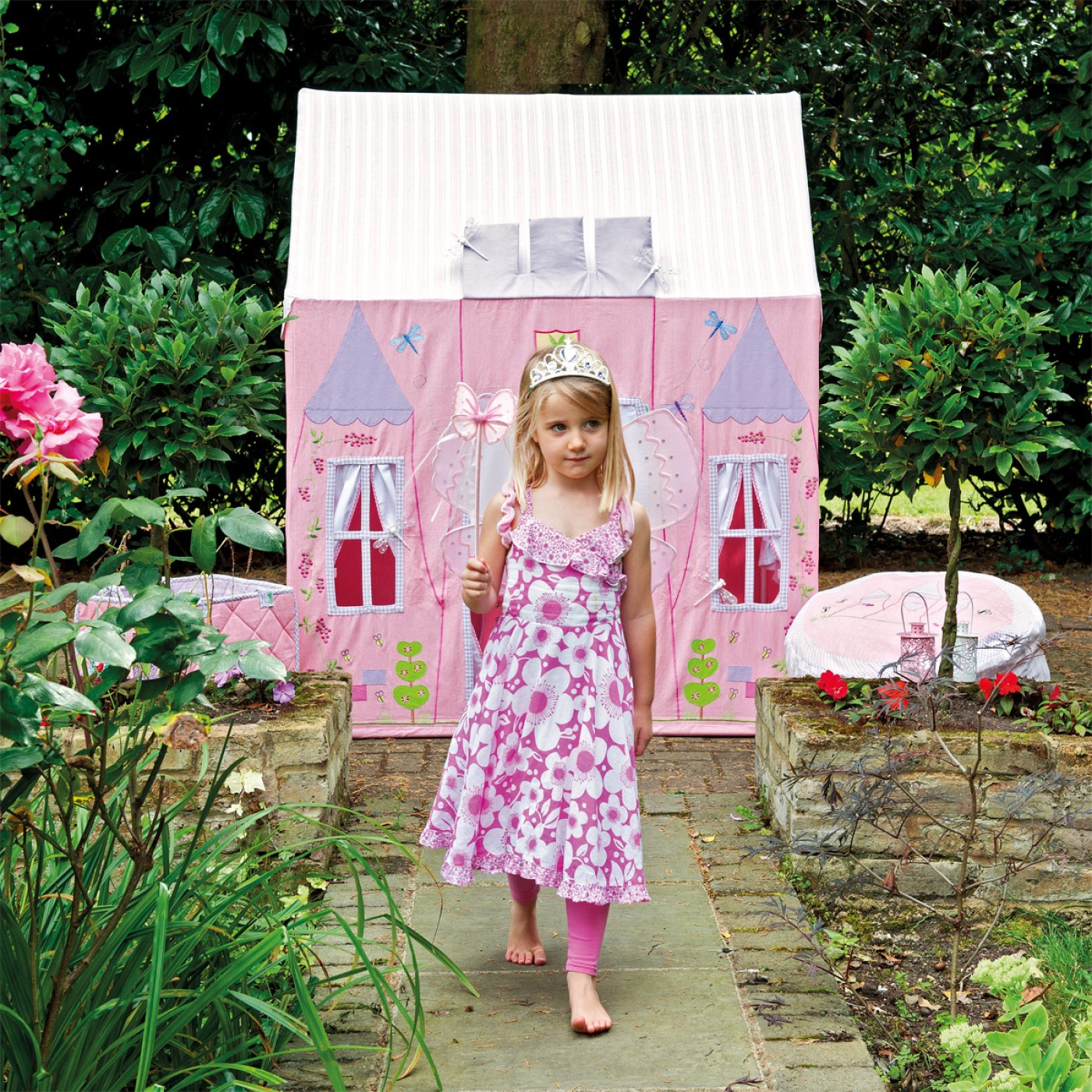 Fabric Princess Castle Playhouse Thumbnail 3