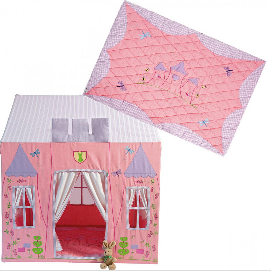 Fabric Princess Castle Playhouse Thumbnail 5