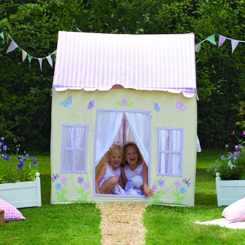 Girl's Butterfly Cottage Playhouse Thumbnail