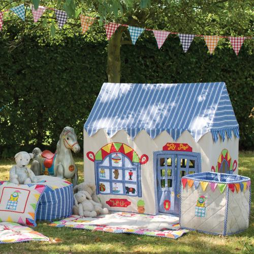 Appliqued Playhouse, Toy Shop Thumbnail