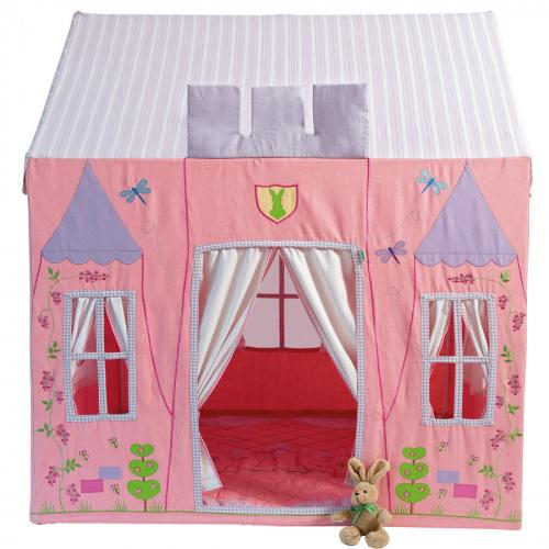Fabric Princess Castle Playhouse Thumbnail