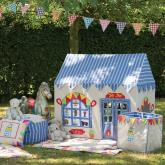 Appliqued Playhouse, Toy Shop