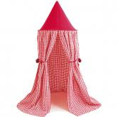 Red Gingham Hanging Tents