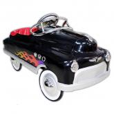 Black Hot Rod Pedal Car