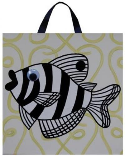 Riley Goldie Fish Canvas by Alli Taylor