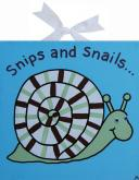 Circle Time Blue Snail Canvas by Alli Taylor