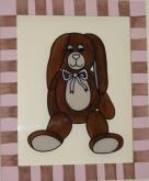 Madison Flopsy Acrylic (with white frame) by Alli Taylor