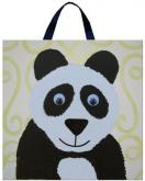 Riley Punky Panda Canvas by Alli Taylor