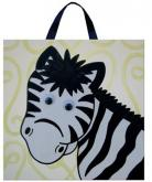 Riley Zany Zebra Canvas by Alli Taylor