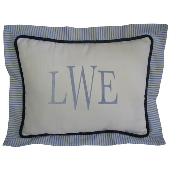 Luke Rectangle Pillow by Bebe Chic