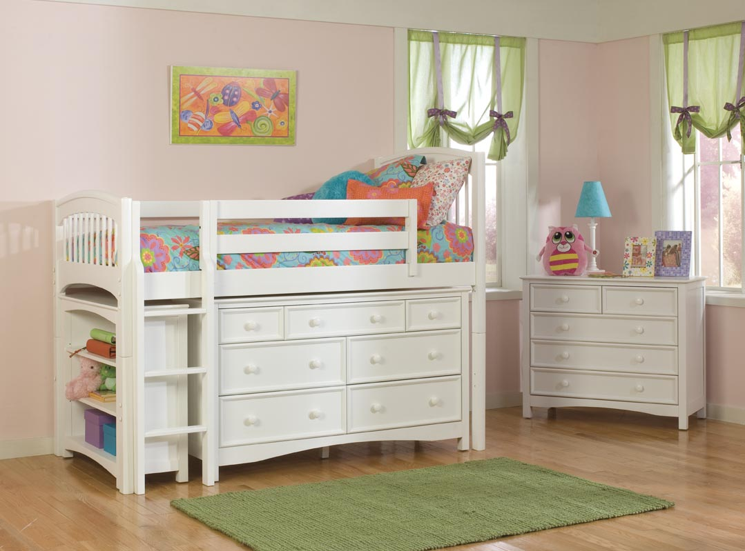 Bolton Kids Windsor Loft Bed W Wakefield Dresser