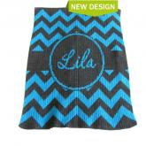 Chevron with Banner Blankee