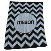 Zig Zag Blankee (shown in black)