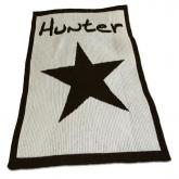 Personalized Blanket with Star and Name