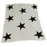 Stroller Blanket with Floating Stars