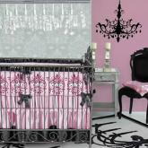 Luxe Pink Ashlyn Baby Bedding by Caden Lane