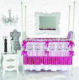 Luxe Pink Sophie Baby Bedding by Caden Lane