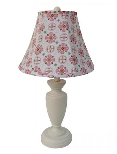 Small Pink Moroccan Childtop Urn Lamp